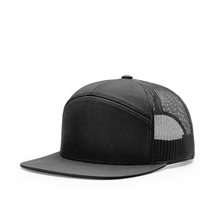 Custom 7 panel caps & hats manufacturers, wholesale
