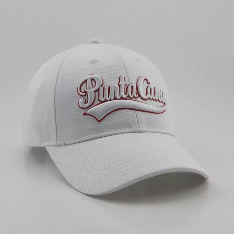 576b063915bac promotion hard high quality embroidery custom cotton 6-panel fitted unisex  cap