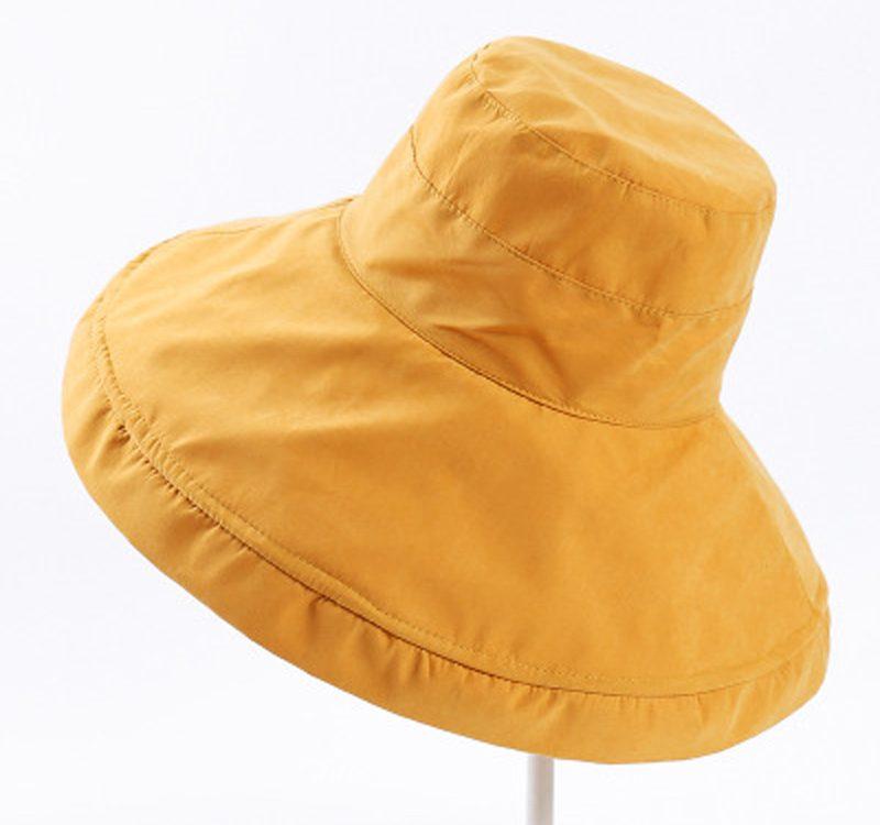 cc63e40c Women's Big Brim Sun Hat Leisure sunscreen sunshade cap flanged wide brim  hat
